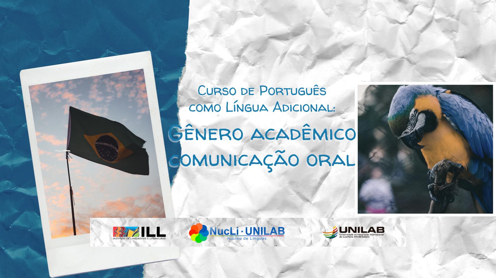 Imagem referente a postagem de título Núcleo de Línguas oferece Curso de Português como língua...