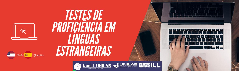 Imagem referente a postagem de título Inscrição para Exame de Proficiência – Unilab